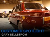 Customer Feature - Gary Sellstrom