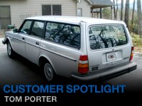 Customer Feature - Tom Porter 1982 245