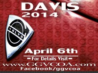 16th Annual Davis Car Show and Swap Meet 2014