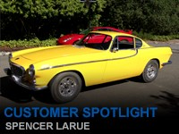 Customer Spotlight Spencer Larue