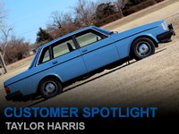 Customer Spotlight Taylor Harris