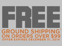 Free Ground Shipping On Orders Over 99