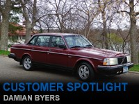 Customer Spotlight Damian Byers