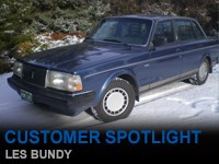 Customer Spotlight Les Bundy