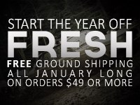 Free Shipping for the Month of January