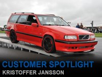 Customer Spotlight Kristoffer Jansson
