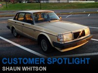 Customer Spotlight - Shaun Whitson