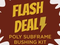 Flash Deal ipd POLY SUBFRAME BUSHING INSERT KIT