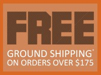 Free Shipping on orders over 175