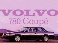 Volvo 780 Coupe Overview