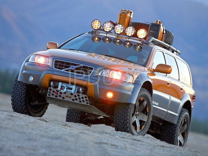 Volvo retires ipd s XC70R All Terrain to the Volvo Museum