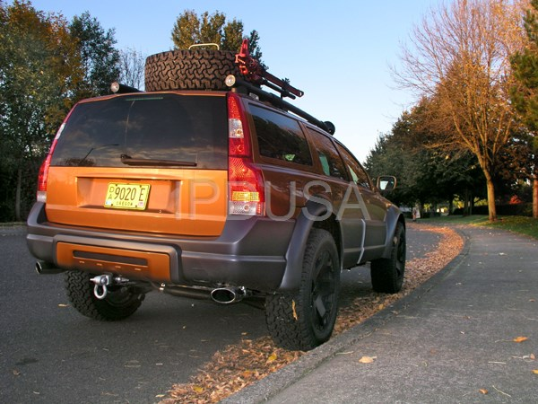 Volvo retires ipd's XC70R All Terrain to the Volvo Museum ...