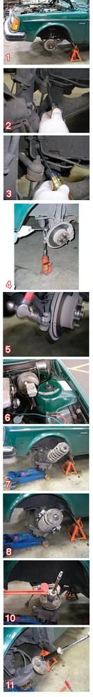 The Basics of Strut Installation on 2/7/9 Series