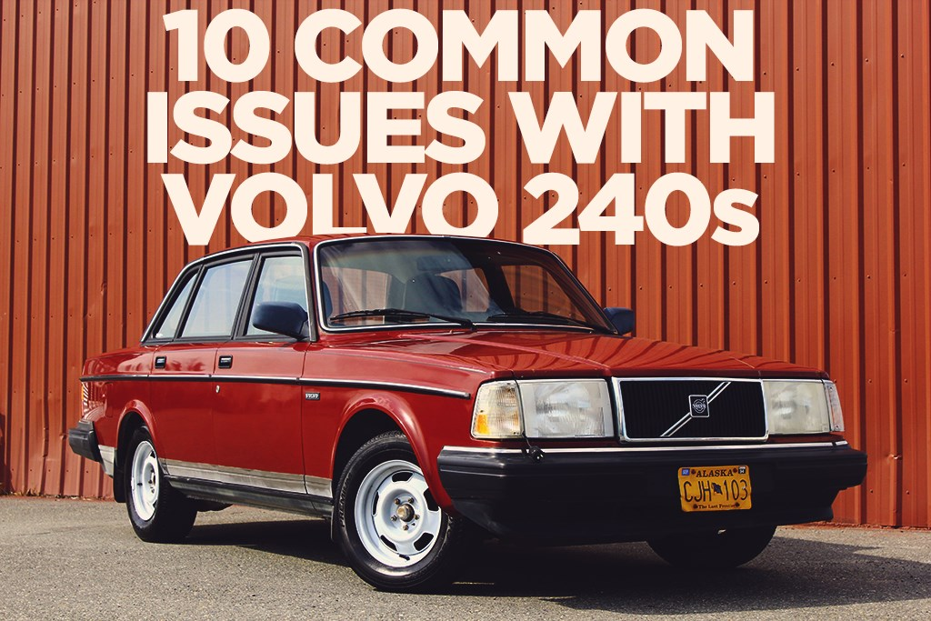 Top 10 Common Issues with Volvo 240 Models
