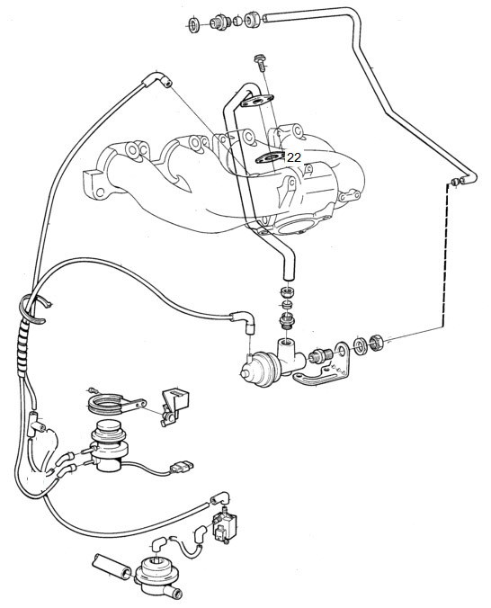 Does my Volvo 240 have EGR and what is it? Volvo Dl Engine Diagram on volvo s80 wheel diagram, volvo 3.2 engine, volvo 740 suspension diagram, volvo 240 wiring diagrams, 1985 volvo radio wire diagram,