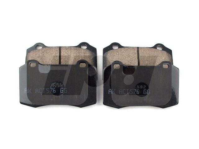 120942 - Rear Brake Pad Set Ceramic - S60R V70R 30683858