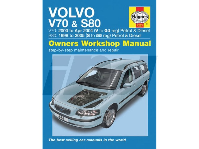 Volvo Haynes Shop Manual - UK Edition 111183 9L4263