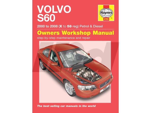 volvo haynes shop manual uk edition 114598 4793 9l4793 rh ipdusa com volvo s60 service manual pdf volvo s60 owner's manual
