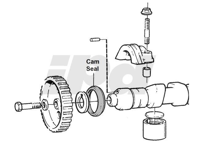 Volvo Front Camshaft Seal 101450 6842273 1306333 1306334 463358