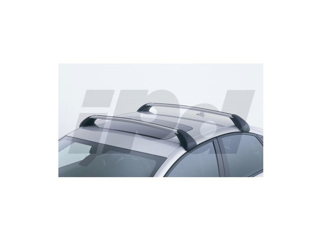 Roof Rack Bar Kit W O Rails P1 V50 Genuine Volvo 115355