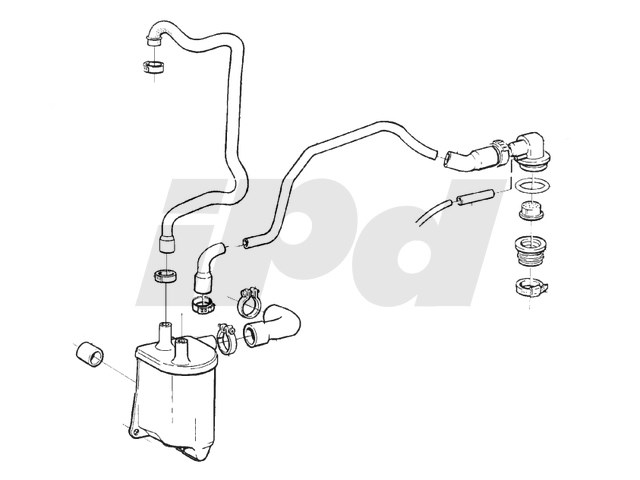 115322 - PCV Breather System Kit 1993-1997 850 Non-Turbo