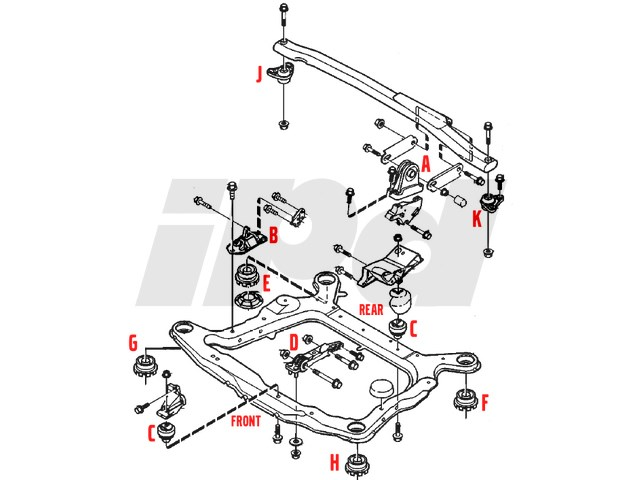 112761 Engine Mount on 2004 Volvo Xc90 Engine Mount Diagram