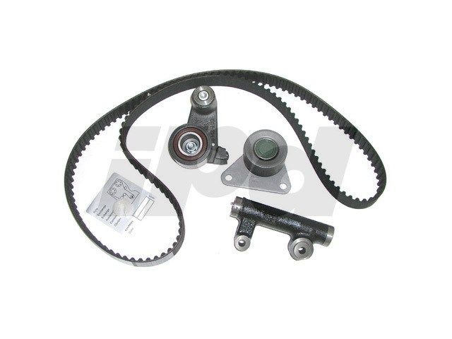volvo timing belt kit with tensioner and idler bearing oes