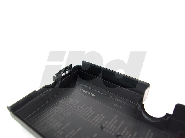 fuse box cover p1 s40 v50 genuine volvo 124524. Black Bedroom Furniture Sets. Home Design Ideas