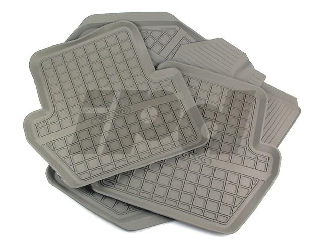 Rubber Floor Mat >> Rubber Floor Mat Set P80 850 S70 V70 Genuine Volvo 124503
