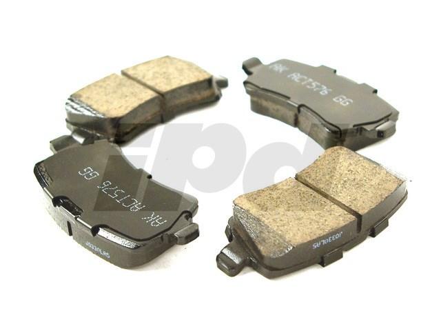 115441 - Rear Brake Pad Set Ceramic - P3 with Electric Parking Brake  30671574