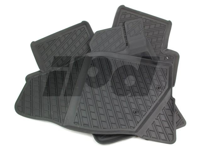 volvo rubber floor mat set v70 xc70 125113 39891787. Black Bedroom Furniture Sets. Home Design Ideas