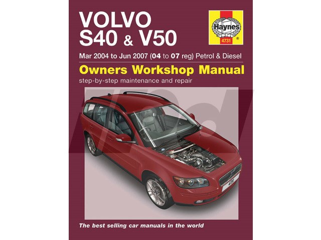 volvo haynes manual for p1 s40 v50 115416 9781844257577 sv4757 9l4731 rh ipdusa com Volvo S40 Engine Volvo Cars S40 Manual