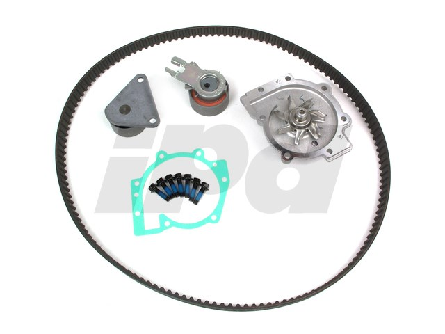 FOR VOLVO V50 1.6 D4 DIESEL 2005-2012 TIMING CAM BELT TENSIONER KIT WATER PUMP