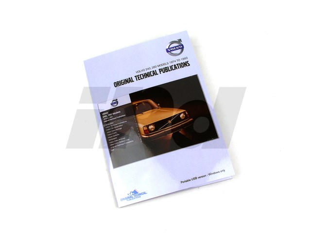 volvo digital parts service manual 240 260 125479