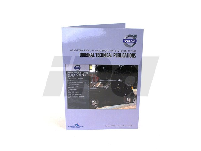 volvo digital parts service manual pv 444 445 544 p110 p210 125542 rh ipdusa com Volvo PV544 Customs Volvo 444