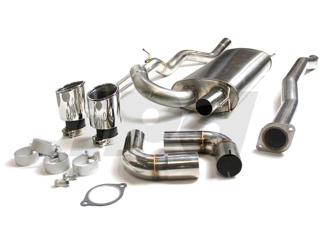 125639 Ss Sport Exhaust P3 S60 T5: Volvo V50 T5 Performance Exhaust At Woreks.co