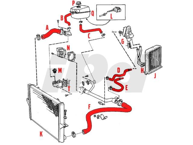 fullsize_3787 volvo lower radiator hose p80 850 s70 v70 non turbo 103086 volvo 940 cooling system diagram at fashall.co