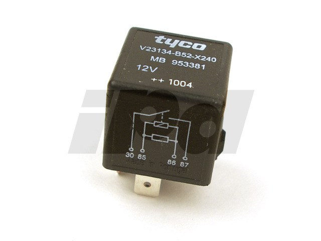 Rear Defroster & Fan Relay 2000-2004 S40 V40 Genuine Volvo 115642