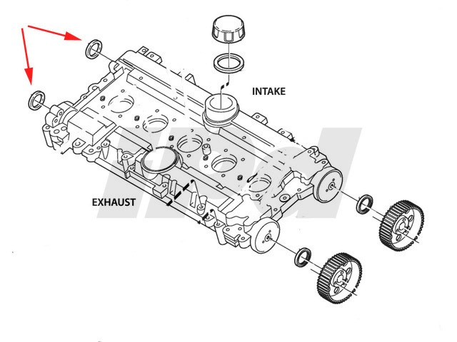 Volvo Rear Camshaft Seal 112312 1336016 3514943 9443310 135151 Rhipdusa: 1996 Volvo 960 Camshaft Position Sensor Location At Gmaili.net