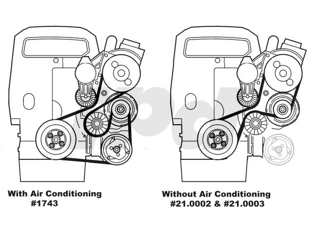 115286 Auxiliary Serpentine Drive Belt For Models Without Air Conditioning 850 S70 V70 C70 on 2001 volvo s40 wiring diagram