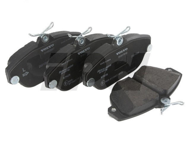 Volvo Front Brake Pad Set Girling - 740 940 960 S90 V90 ...