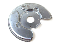 120354 FRONT BRAKE DUST SHIELD BACKING PLATE - 240 260