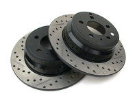 120641 StopTech Powerslot Rear Rotors - P80 850 S70 V70 C70 FWD
