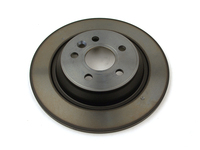 120777 Rear Brake Rotor - P3 S60 S80 V70 XC70 with Electronic Parking Brake and Solid Rotors
