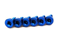 120804 Spark Plug Cover Bolt Kit Blue