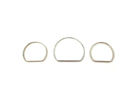 111173 Instrument Cluster Gauge Trim Rings - P80 S70 V70 C70