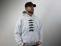 IPD Exclusive: 121088 50 Year Volvolution Hooded Sweatshirt Grey - 2XL