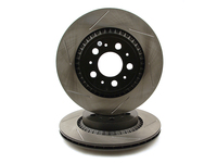 120878 StopTech Powerslot Rear Rotors - XC90