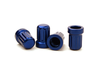 IPD Exclusive: 121378 Billet Valve Stem Cap Kit - Blue (SALE PRICED)