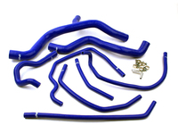 IPD Exclusive: 121335 Silicone Radiator Hose Kit Blue - P1 Manual Transmission